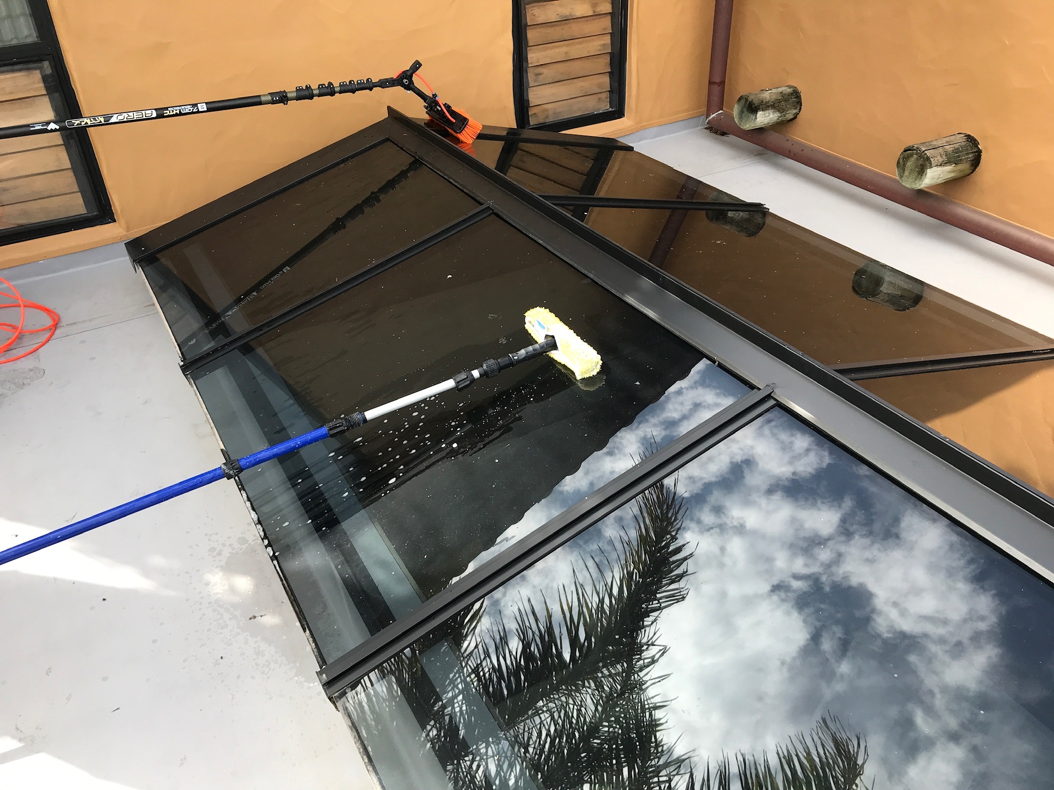 Skylight Cleaning